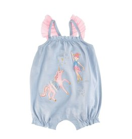 Mud Pie Mud Pie- Ballerina Unicorn Bubble Jumper