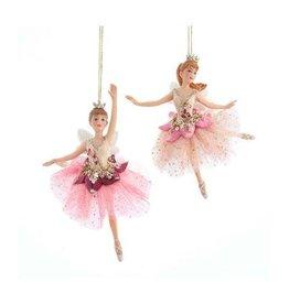 Kurt Adler Kurt Adler- Blush Fairy W/Wing Ornament