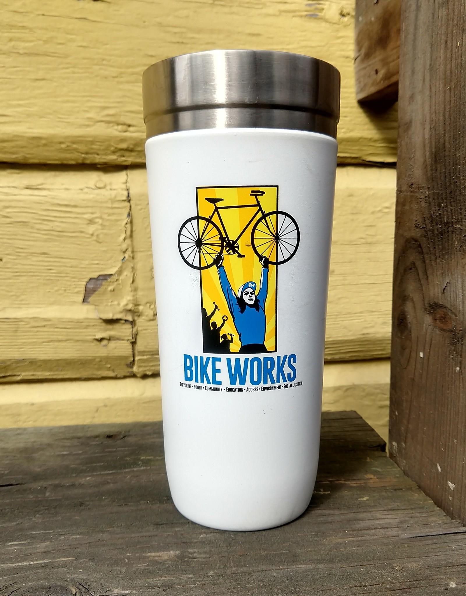 Bike Works Bike Works Stanley Carafe 32oz, White