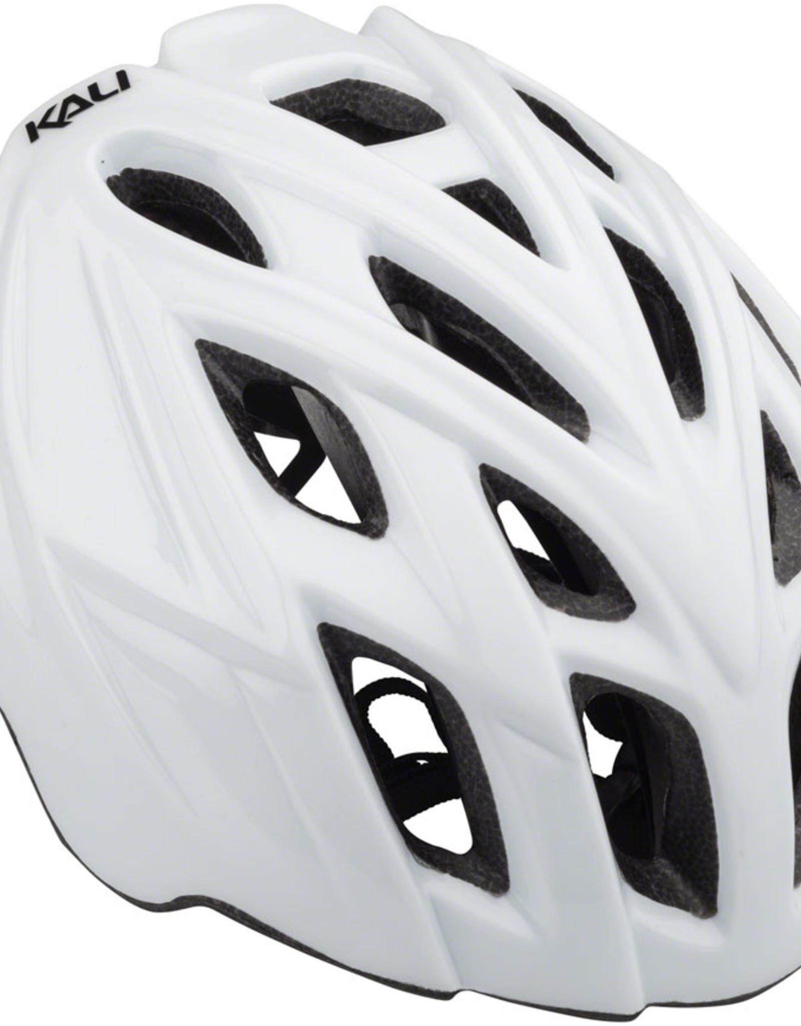 Kali Protectives Kali Protectives Chakra Mono Helmet - Solid Gloss White, Small/Medium