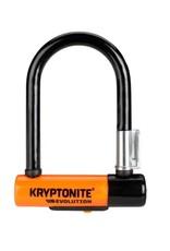 """Kryptonite Kryptonite Evolution Series U-Lock - 3.25 x 5.5"""", Keyed, Black, Includes bracket"""