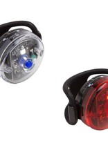 Planet Bike Planet Bike Button Blinky Safety Light Set