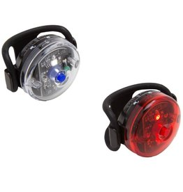 Planet Bike Planet Bike Button Blinky Light Set