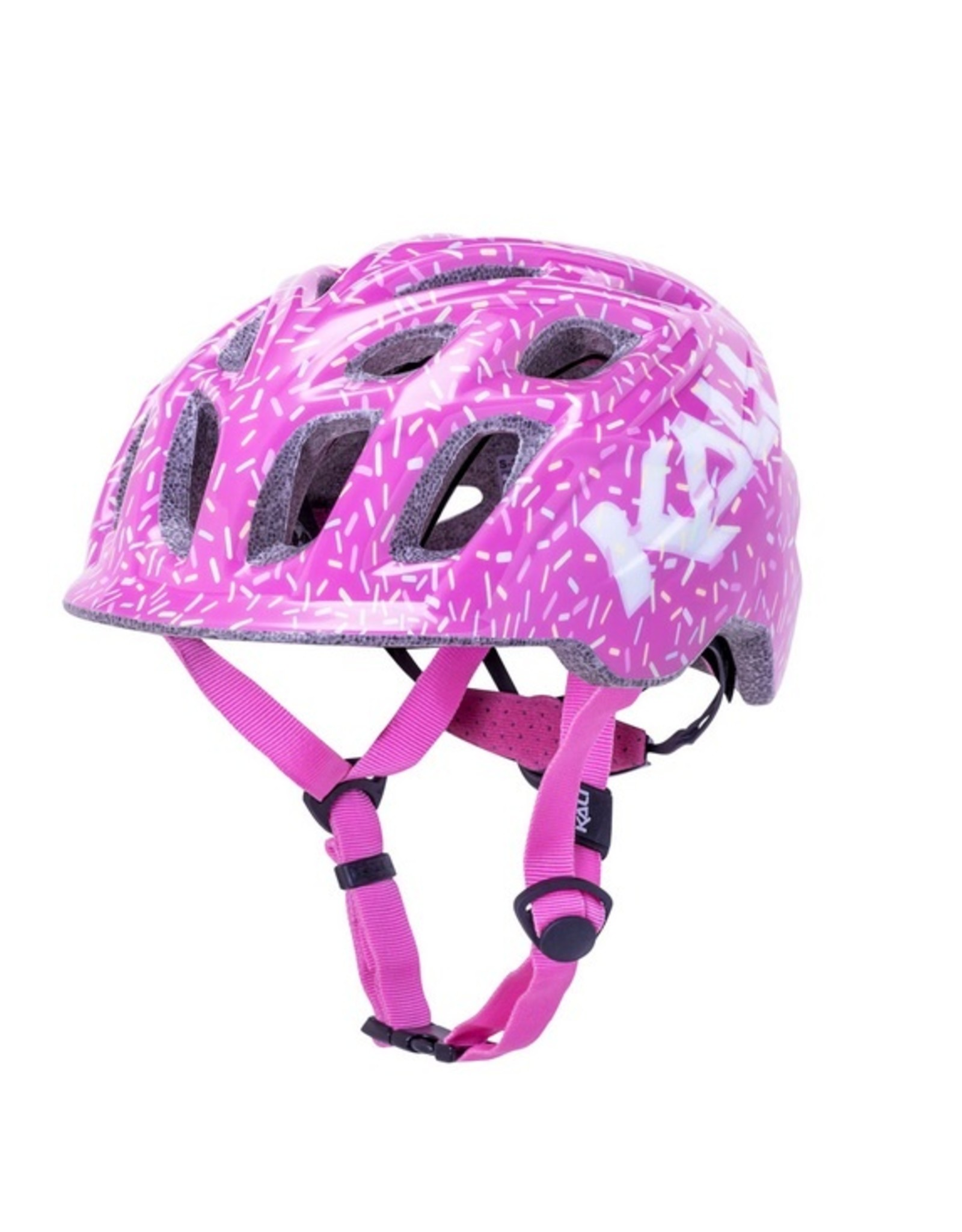 Kali Protectives Kali Protectives Chakra Child Helmet - Sprinkles Pink, Children's, X-Small