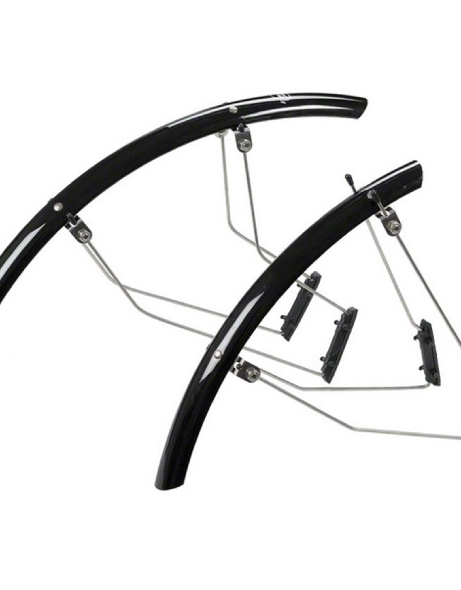 Planet Bike Planet Bike Speedez 700c x 35 Fender Set: Black (700c x 25)