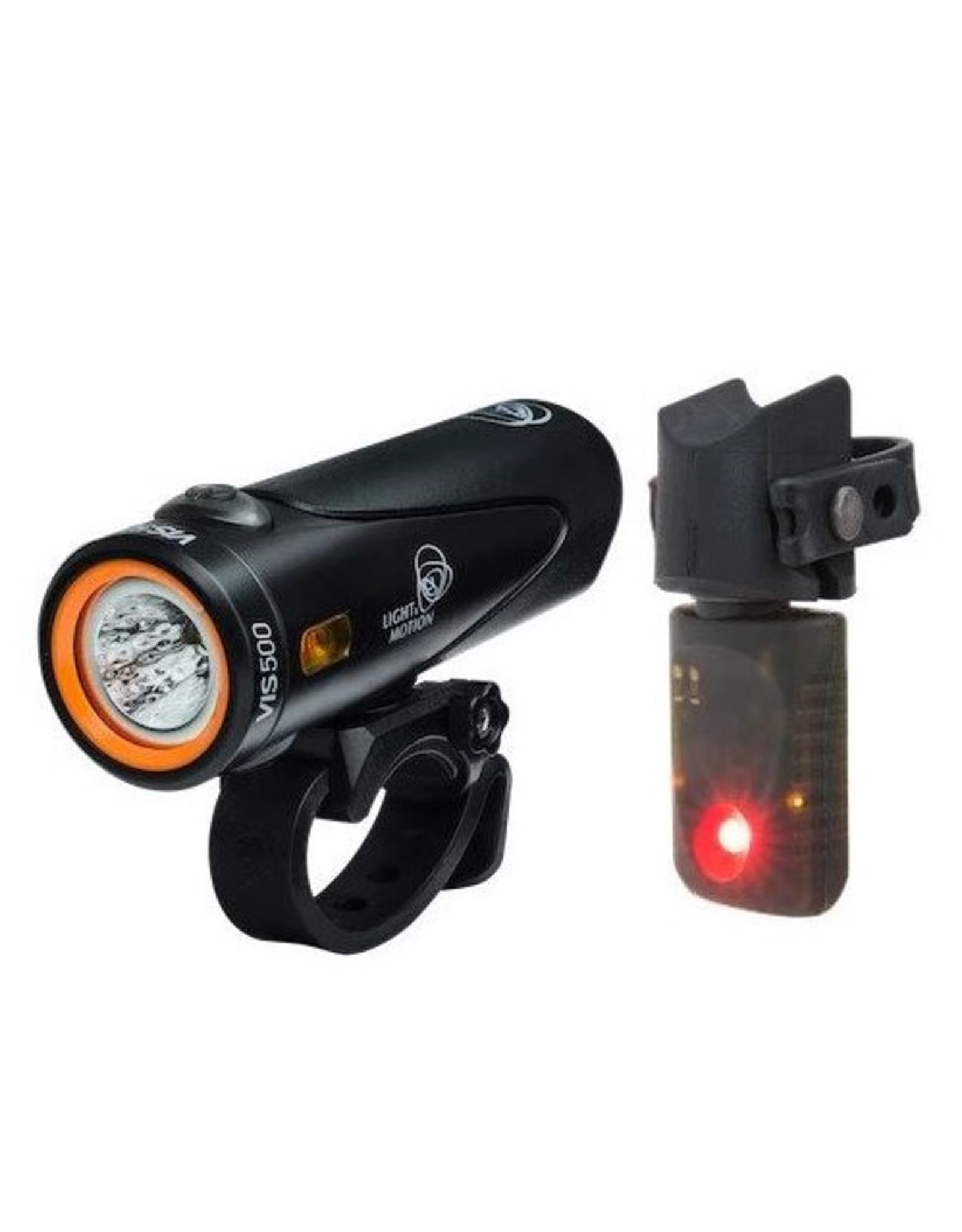 Light and Motion Light & Motion VIS 500 Onyx + Vya TL Combo Light Set