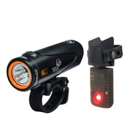 Light and Motion Light & Motion VIS 500 Onyx + Vya TL Combo Light Set