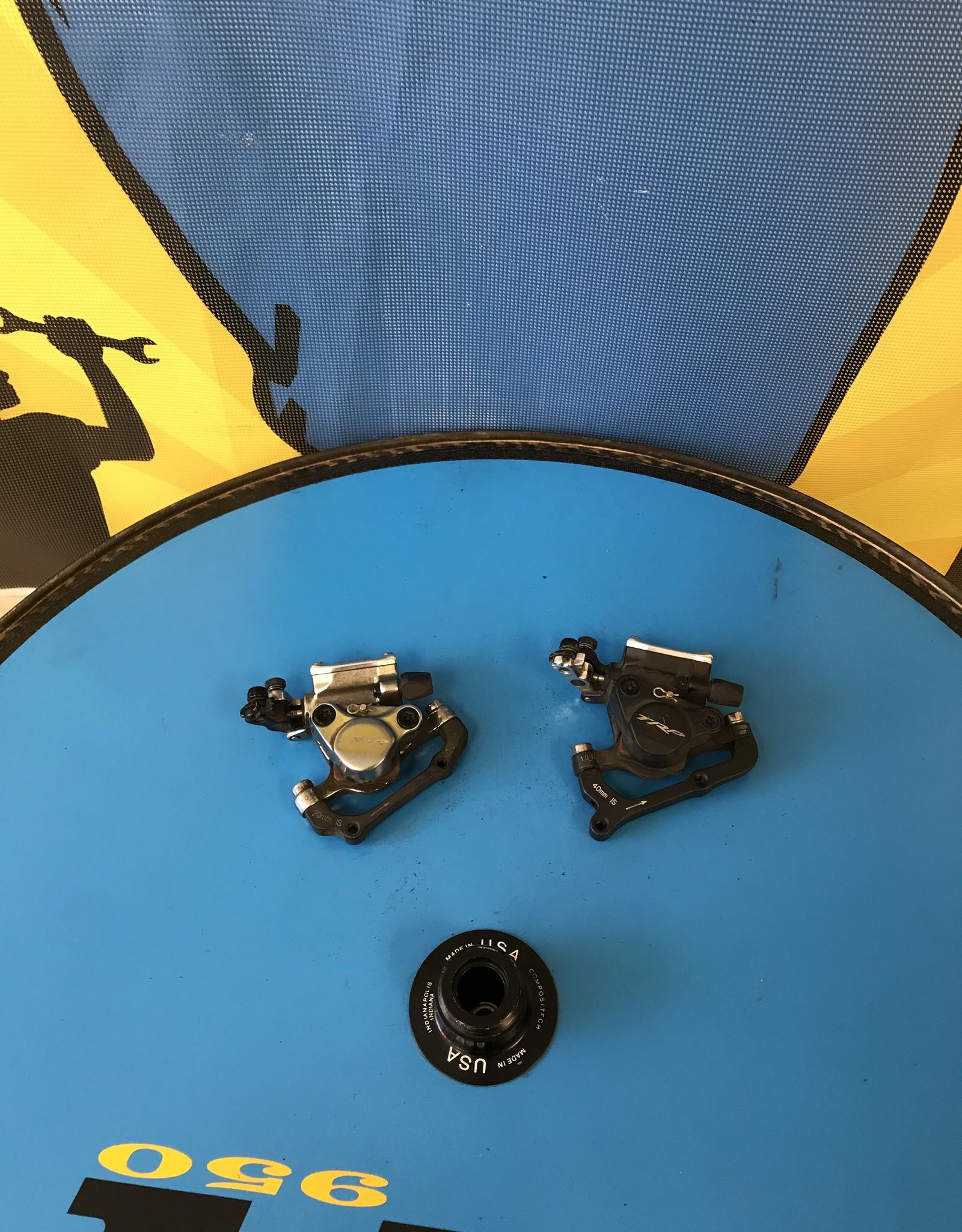 TRP HY/RD Hydraulic Disc Brakes F/R