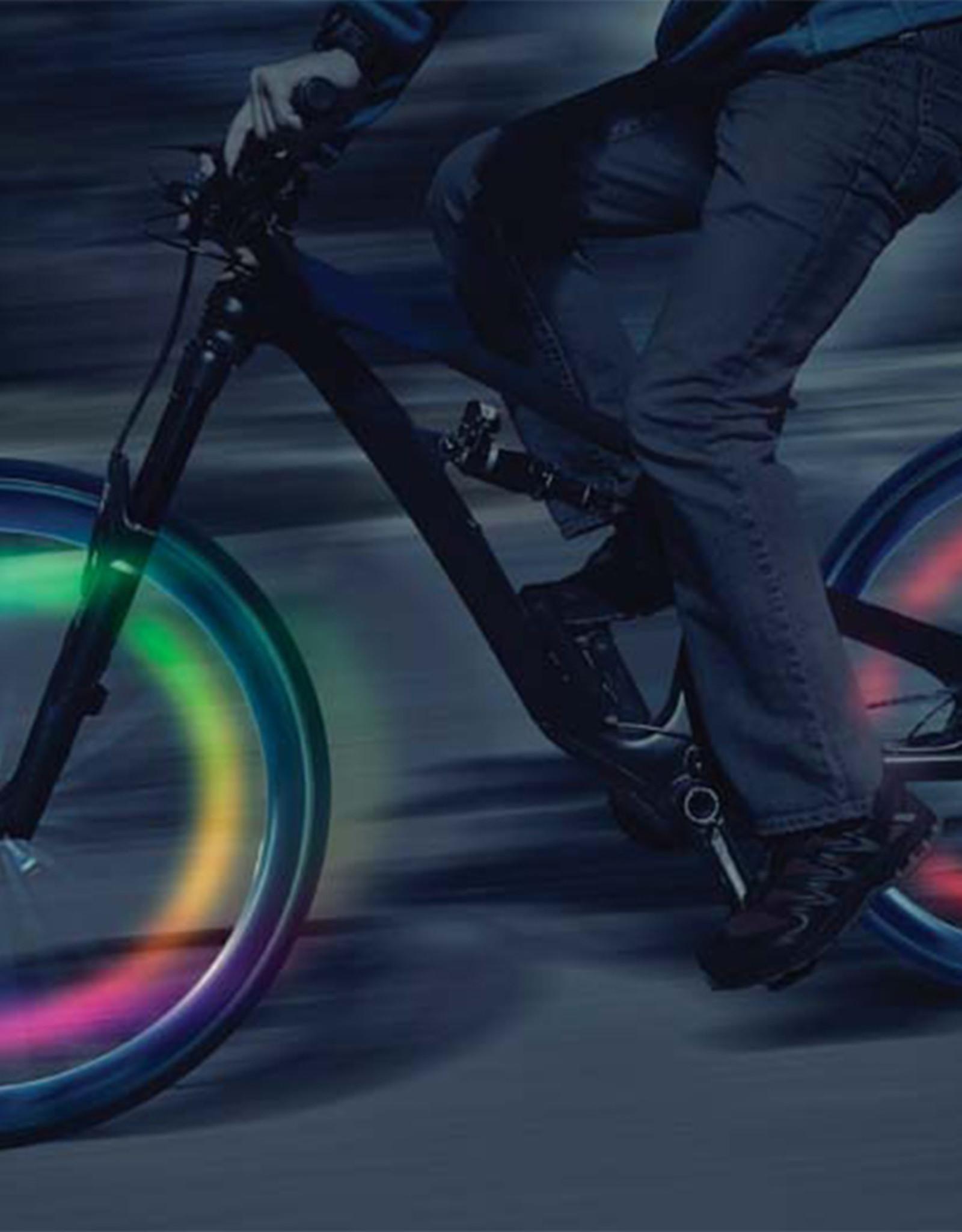 Nite Ize SpokeLit Disc-O Multi-Color LED Light