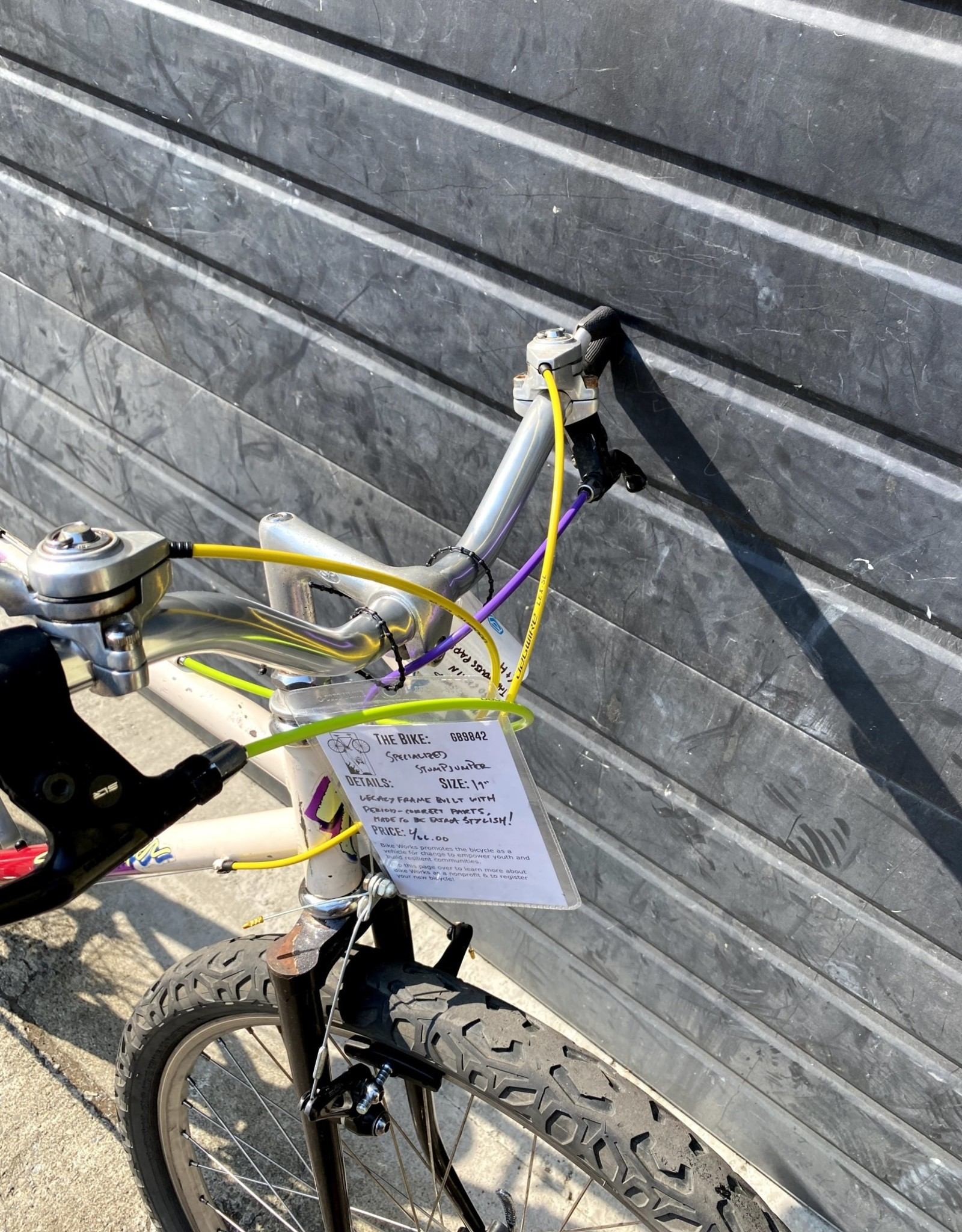 """Specialized 19"""" Specialized StumpJumper"""