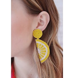 FRANIO BEADED EARRING