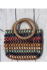 ULRIKE WOOD HANDLE BAG