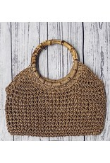 ARPINA STRAW PURSE