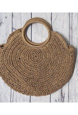 BRENTON ROUND STRAW BAG