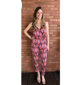 VERONICA M BRINKLEY SURPLICE TANK JUMPSUIT