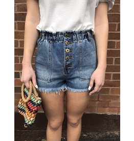 VINTAGE HAVANA NASTKA HIGH WAISTED SHORT