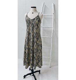 DEX NATHALIA TIE DYE SNAKE DRESS