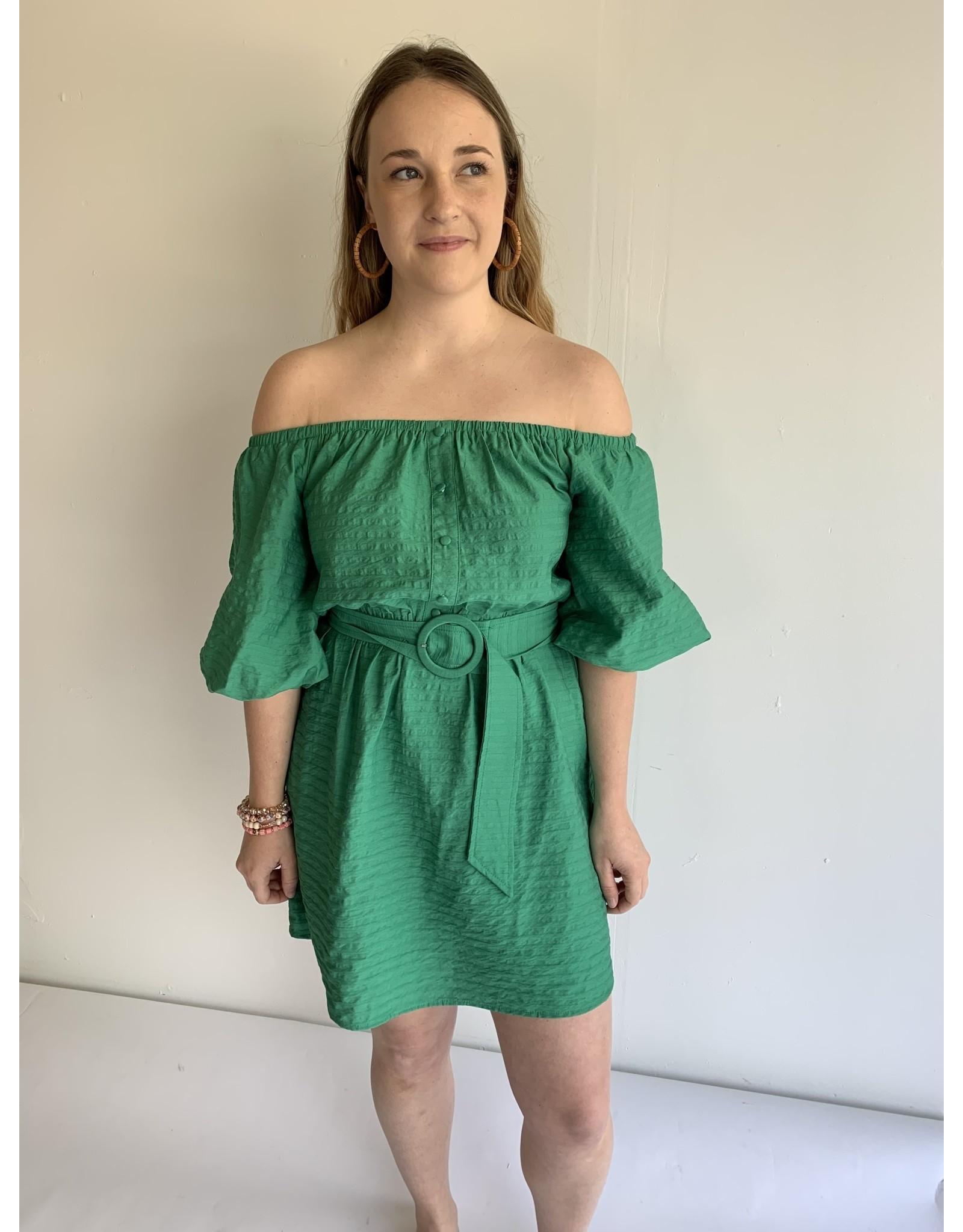 NABILA BELTED DRESS
