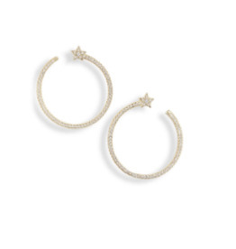 BRACHA SHOOTING STAR HOOPS
