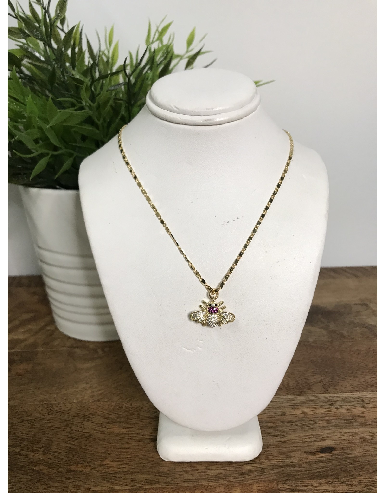 GEMELLI ALEXA BEE NECKLACE