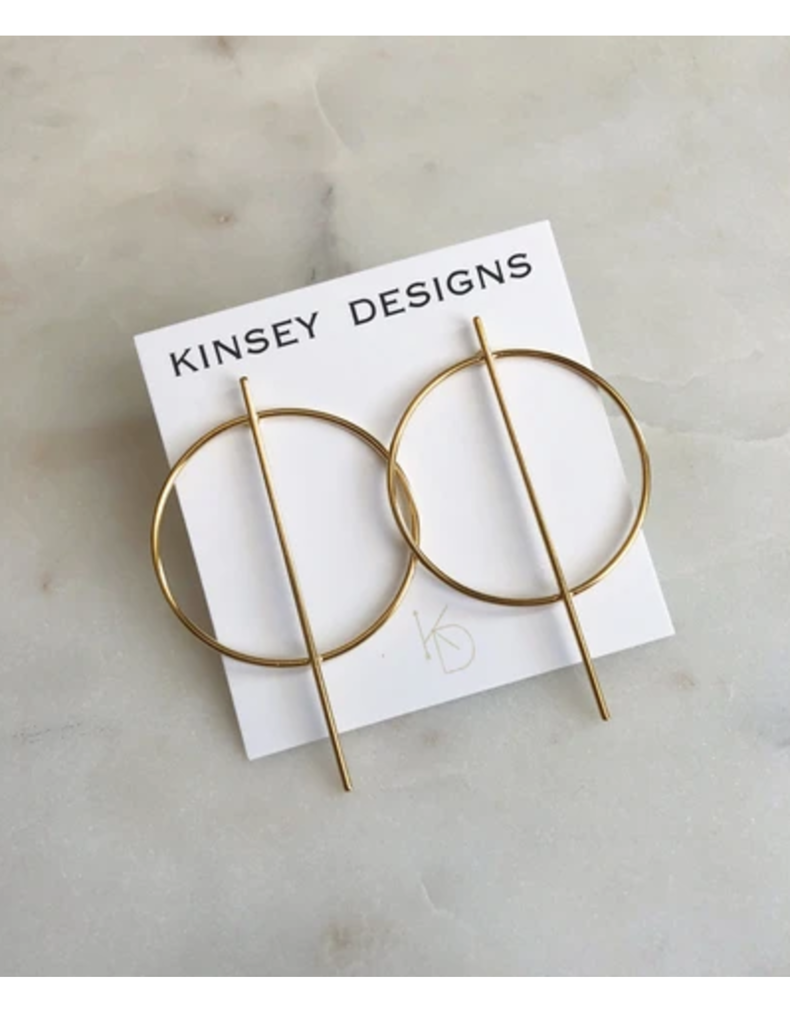 KINSEY DESIGNS JENNI GEOMETRIC STUD EARRING