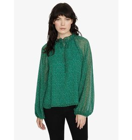 SANCTUARY LIVE IT UP VOLUME BLOUSE