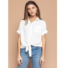 THE GOOD JANE TINA FRONT TIE TOP