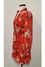 BASTIAAN FLORAL MINI DRESS