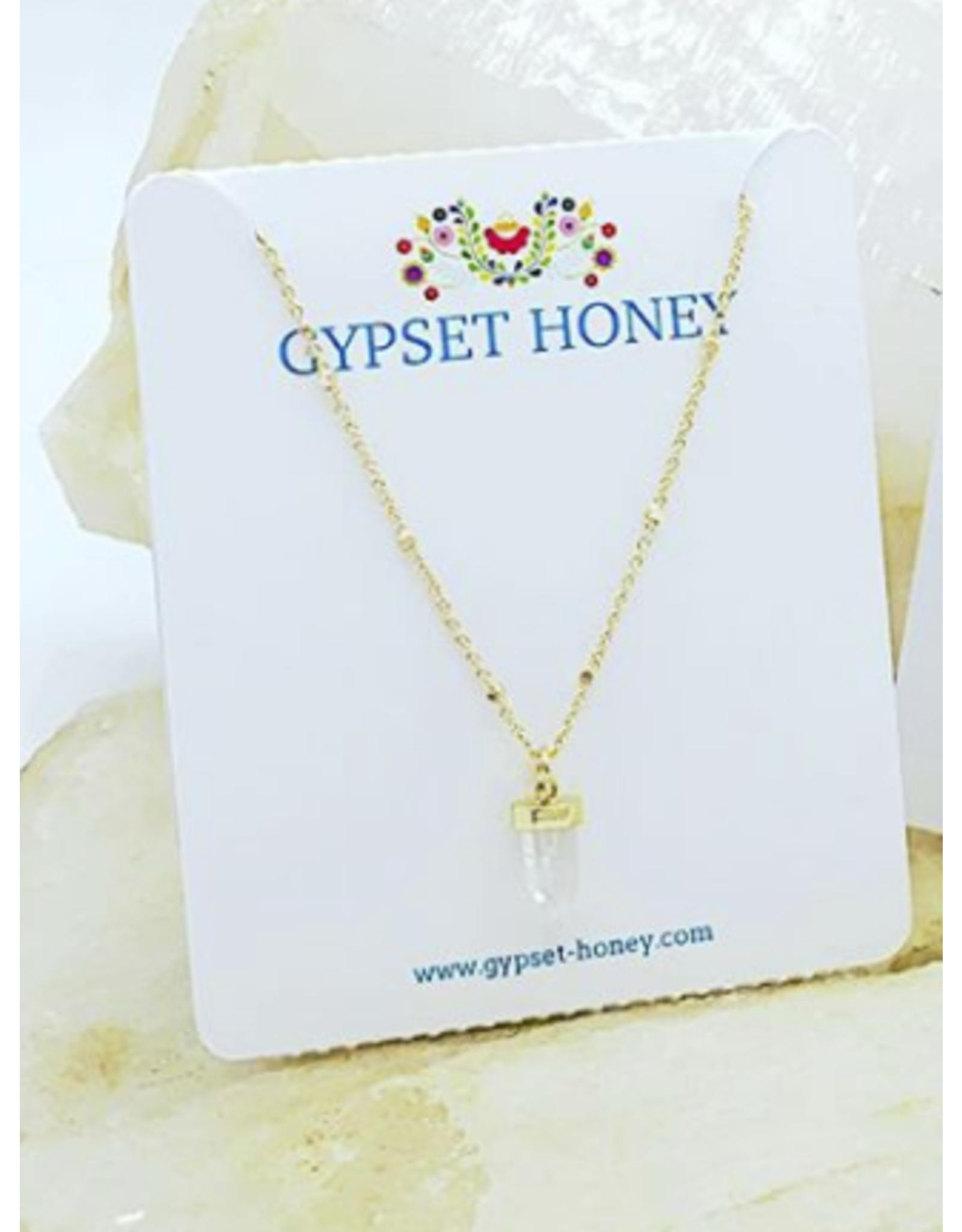 GYPSET HONEY MEI STONE NECKLACE