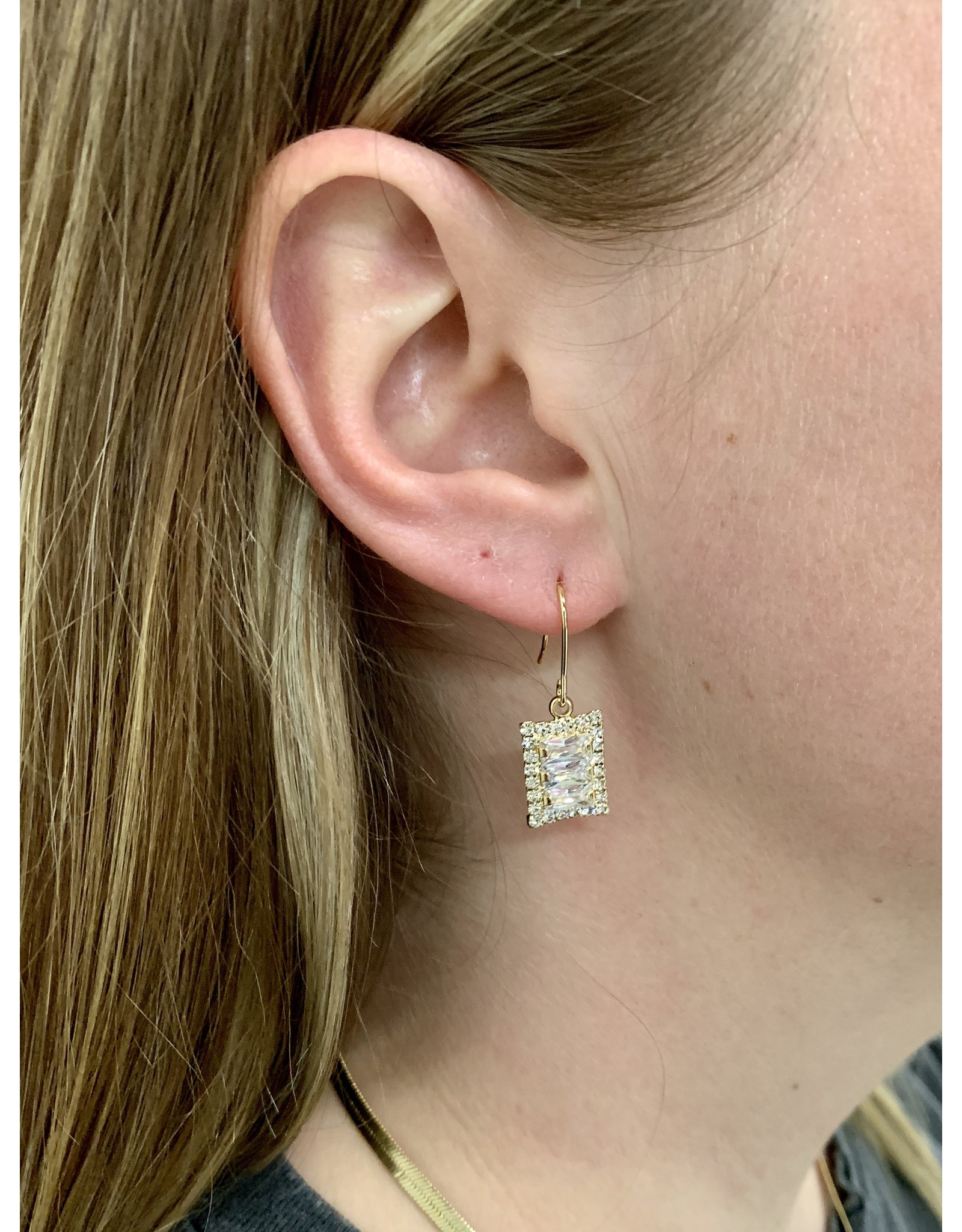 KARSYN SQUARE DANGLE EARRING