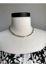 """TIMEAUS LINK NECKLACE 16"""""""