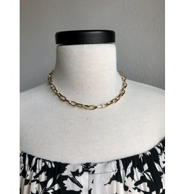 TIMEAUS LINK NECKLACE 16""