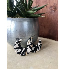 LOPA ANIMAL PRINT HOOP