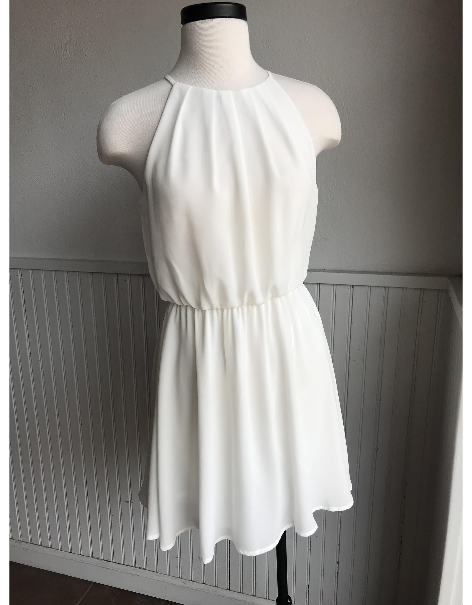 AMALTHEA PLEATED DRESS