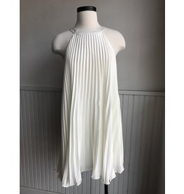 FIAMMETTA PLEATED DRESS