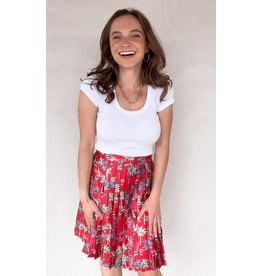 MOLLY BRACKEN DOLPH PLEATED SKIRT