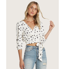 WILLOW CARLA TIE FRONT TOP