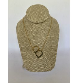 KINSEY DESIGNS KINSEY SINGLE INITIAL NECKLACE