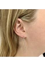 XAPHONIA TRIANGLE EARRING