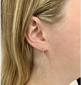 XAPHONIA TRIANGLE EARRING
