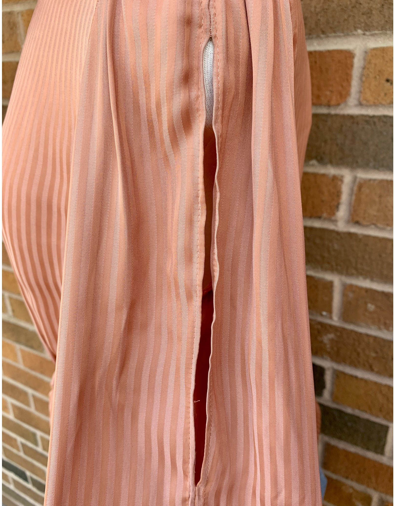 DIGGORY STRIPED TIE BLOUSE