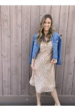 ALAINA LEOPARD PRINT DRESS