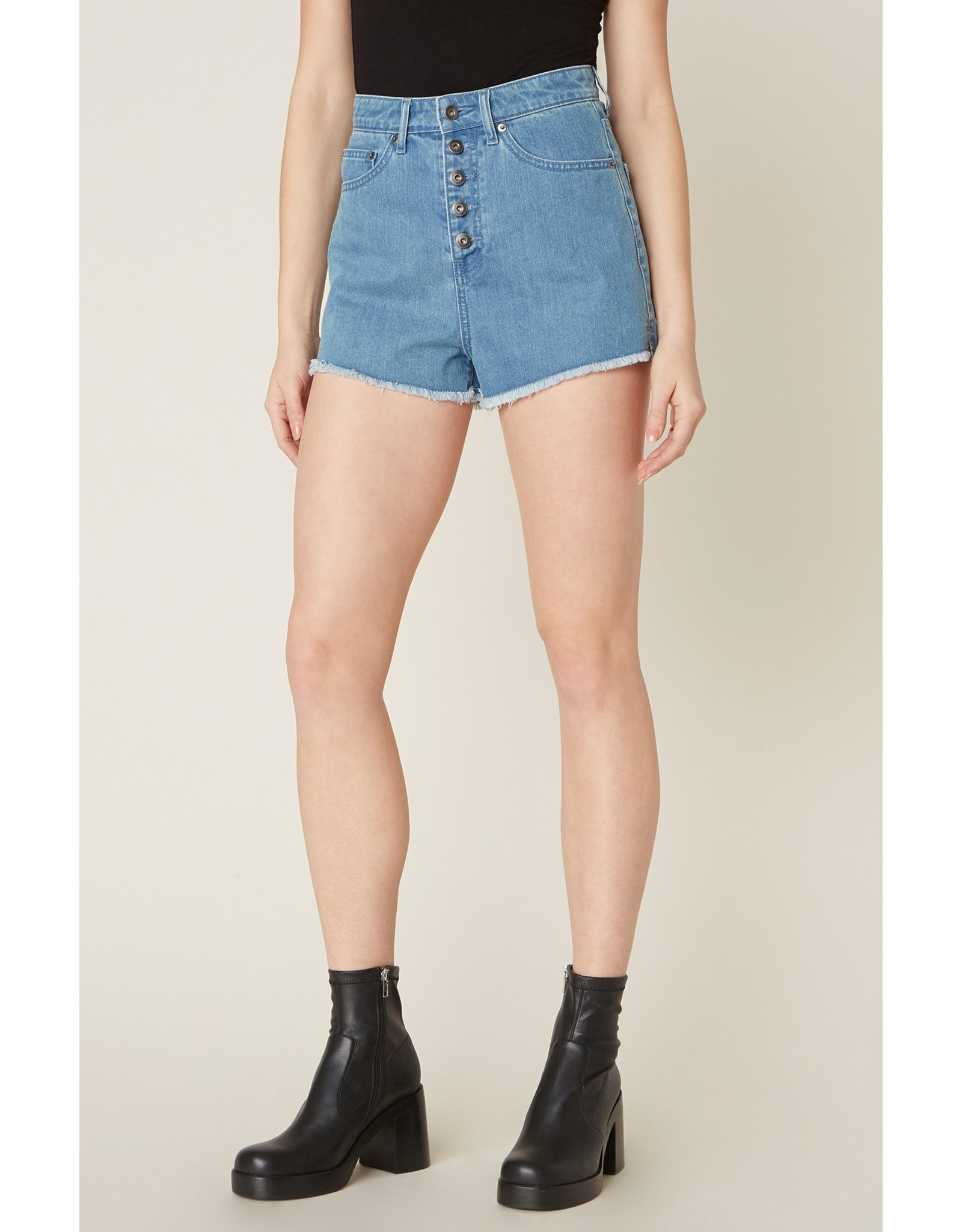 JACK BY BB DAKOTA DOWN TO BUSINESS BUTTON FLY SHORTS