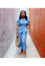 PELAGIOS DENIM JUMPSUIT