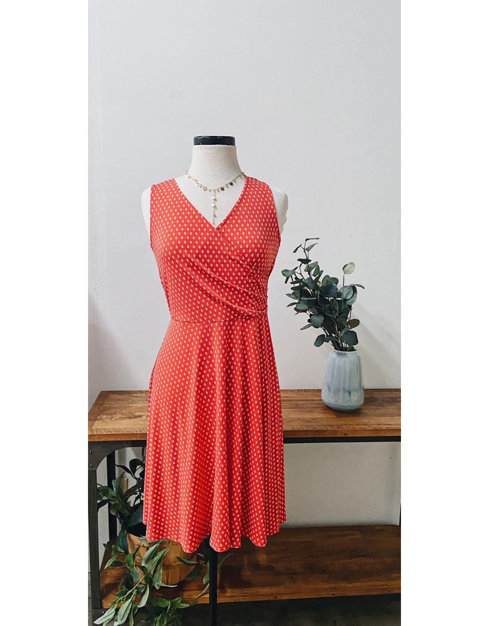 BRUNHILD SLVLESS DRESS