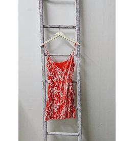 SADIE & SAGE EN FUEGO WRAP DRESS