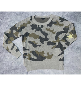 TADAAKI CAMO SWEATER