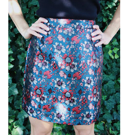 MOLLY BRACKEN SADAF FLORAL PATTERN SKIRT