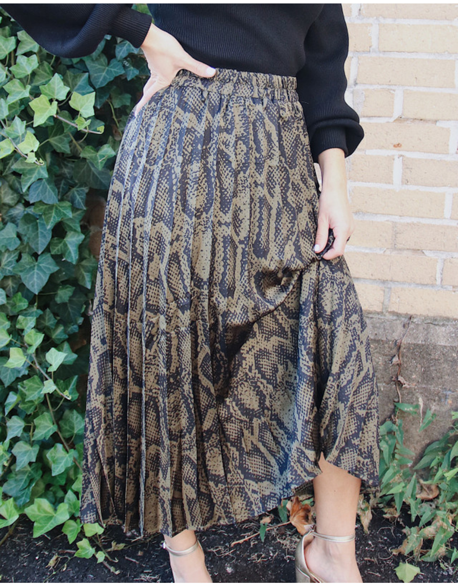 MOLLY BRACKEN TADITA LONG SKIRT