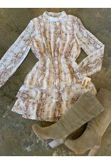 SADIE & SAGE LIKE A VIPER DRESS